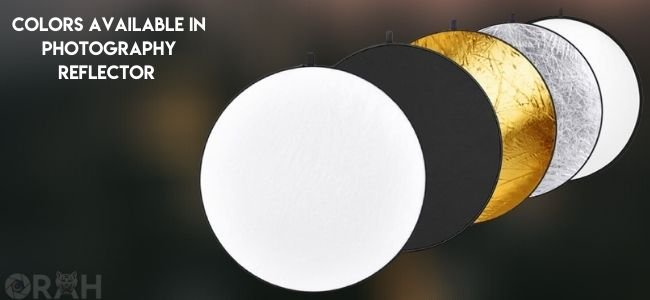 Color schemes of photography reflector