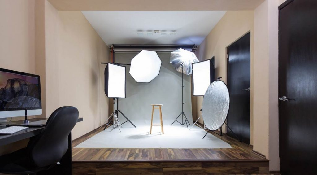 Image of different types of photography reflectors