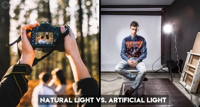 Natural Light Vs. Artificial Light