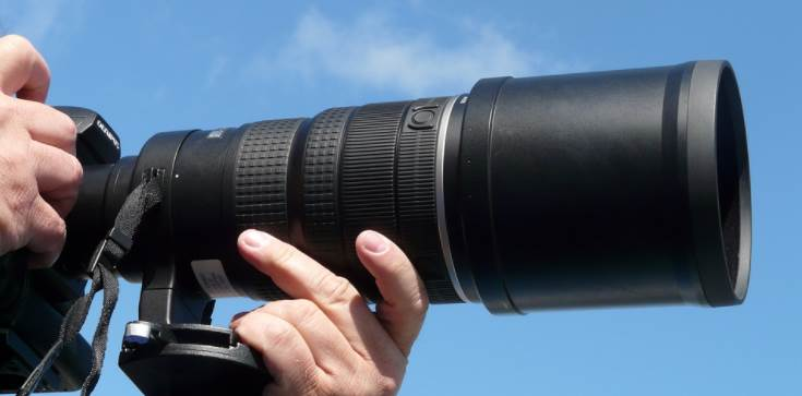 image of a 200mm lens