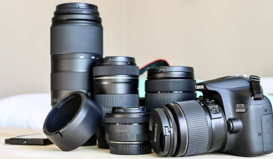 image of different camera lens