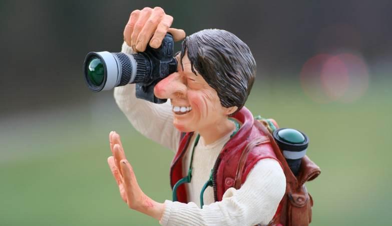 image of figuring taking photos